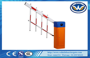 چین Intelligent Fence Expandable Vehicle Barrier Gate 100% Pure Copper Heavy Duty Motor تامین کننده