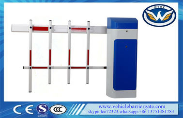 چین Highway Parking Barrier Gate , LED Flashing Signal Light car park gates تامین کننده